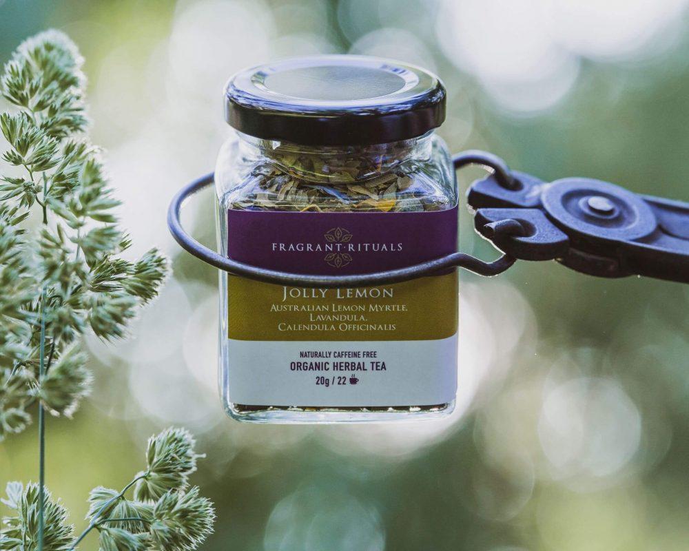organic lemon myrtle herbal tea