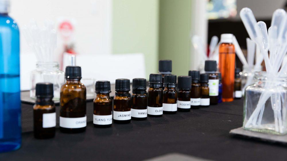 natural perfume blending workshop